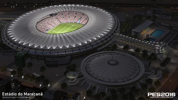 PES 2016: Próximamente estará disponible el estadio Maracaná