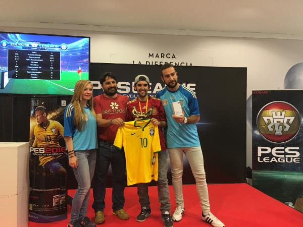 El sevillano Pablo Ruiz Diaz representará a España en PES World Final