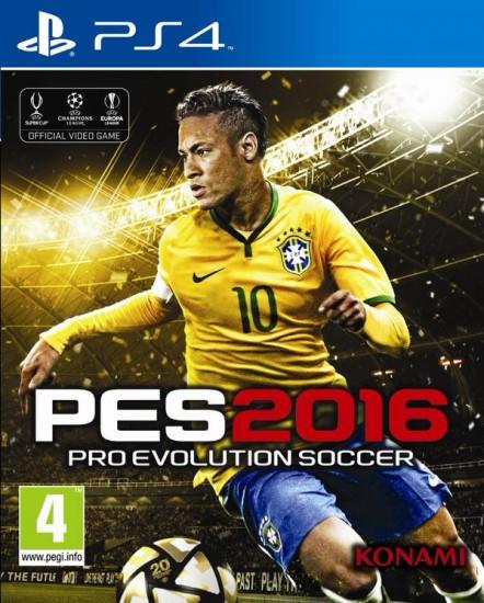 PES 2016: Portada oficial con Neymar como protagonista