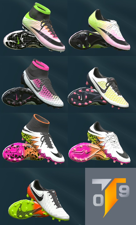 PES 2016 Nike 2016 Radiant Boot Pack - by Tisera09