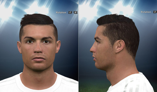 PES 2016 Cristiano Ronaldo cara - by Tunizizou