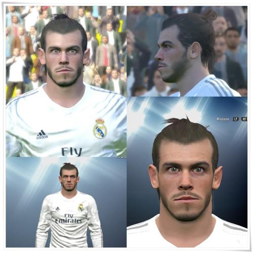 PES 2016 Gareth Bale cara - by Mo Ha