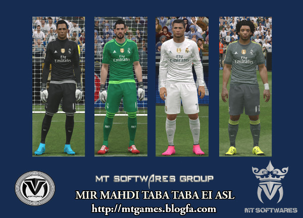 real madrid pes 2016