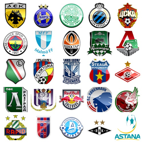 PES 2016 Emblemas otros equipos Europeos