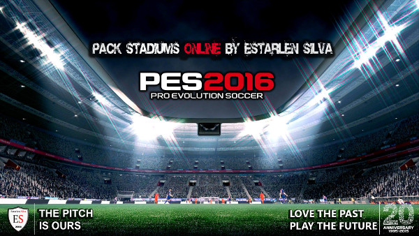 Pack Estadios Online PES2016 - by Estarlen Silva