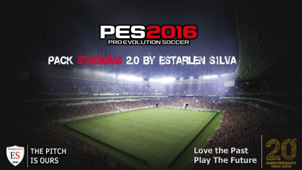 Pack Estadios v2.0 PES 2016 - by Estarlen Silva