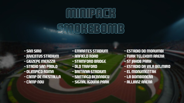 PES 2016 Mini Pack Smokebomb - by Ary Januar