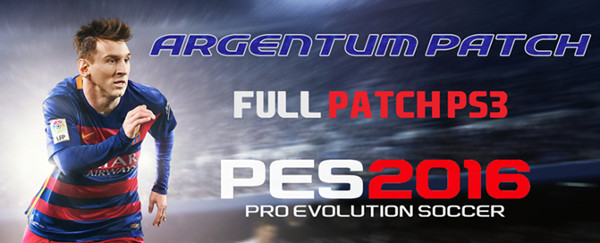 PES 2016 Argentum Patch v2 - by Lucassn