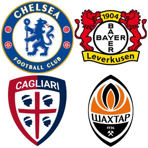 PES2016 Emblemas de equipos Europeos