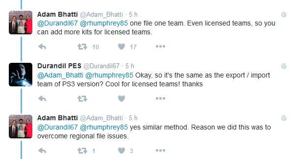 PES 2017: La edición en PS4 será muy similar a la de PS3