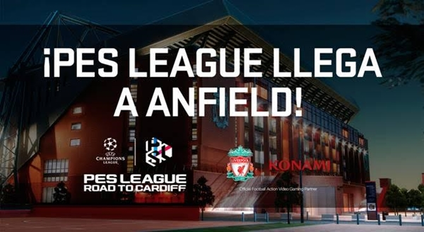 PES 2017: Segunda Final Regional Europea de PES League en Anfield