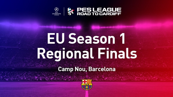 PES 2017: Primera Final Regional Europea en el Camp Nou