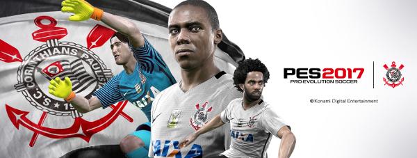 PES 2017: Konami presenta en exclusiva al Corinthians