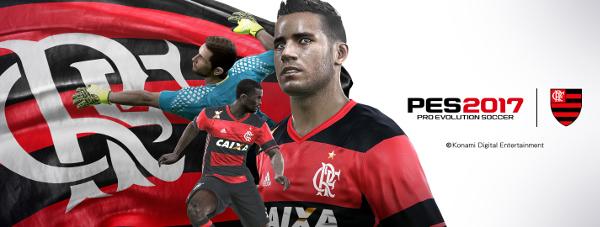 PES 2017: Konami presenta en exclusiva al Flamengo