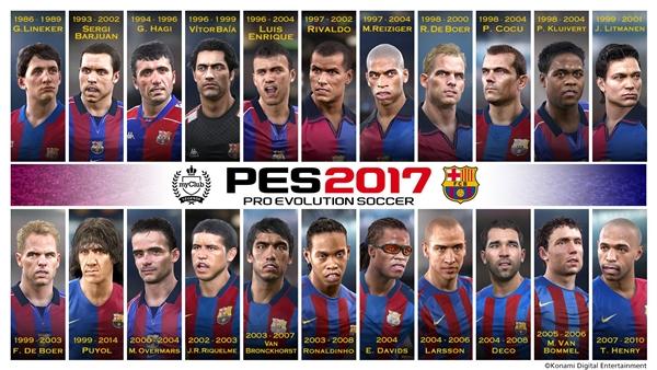 PES 2017: Konami hace una donación a la fundación FCBarcelona