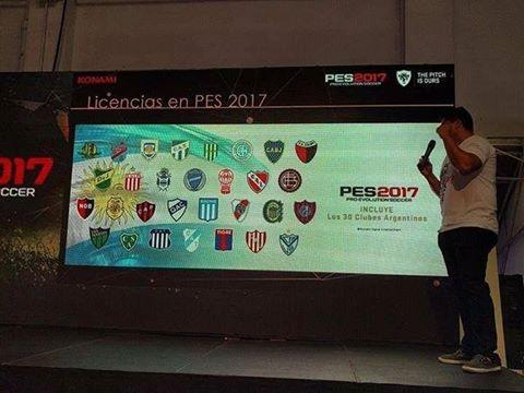 PES 2017: Liga Argentina licenciada al completo