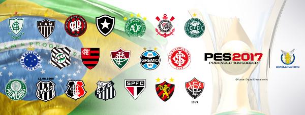 PES 2017: Konami firma un acuerdo exclusivo con la Confederación Brasileña de Fútbol