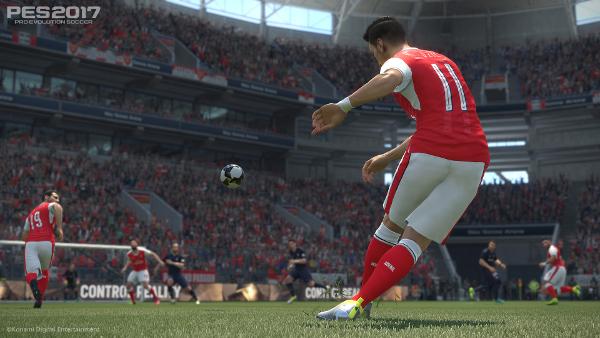 Konami: La jugabilidad de PES 2017 será la clave de todo
