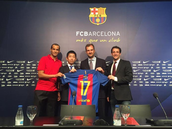 PES 2017 se convierte en Partner Premium del FC Barcelona