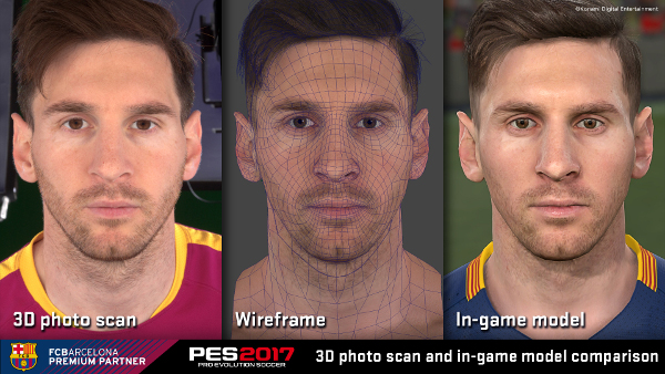 PES 2017: Photo Scan de varios jugadores del FC Barcelona