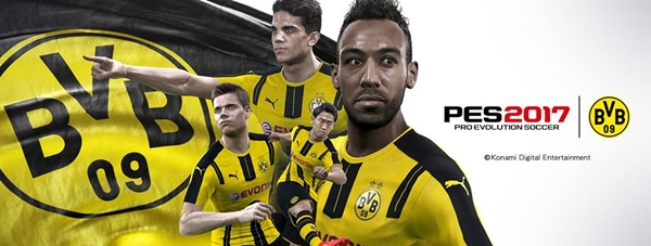 PES 2017: Konami y Borussia Dortmund anuncian un acuerdo para la serie PES