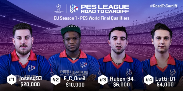 PES 2017: Dos españoles clasificados para la Final de PES League road to Cardiff