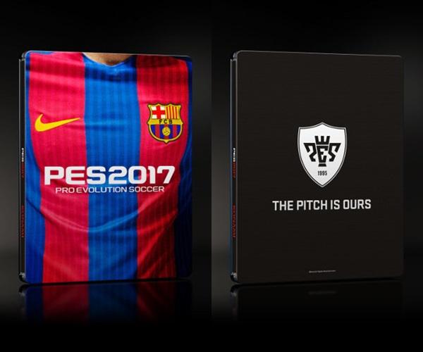 PES 2017: Tendrá una edición SteelBook especial FC Barcelona