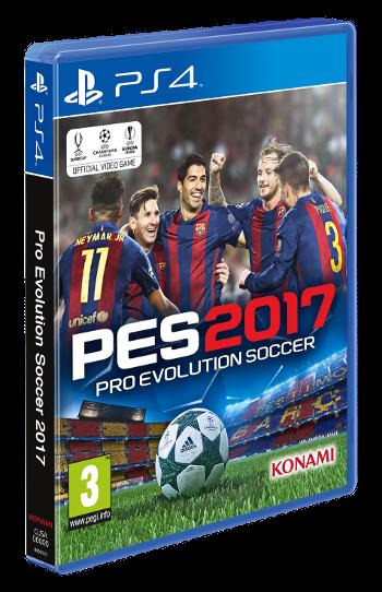 PES 2017: El FC Barcelona es el protagonista de la portada
