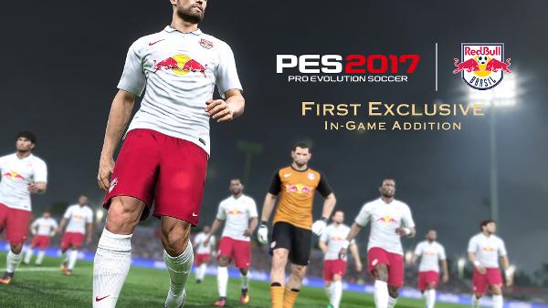 PES 2017: Konami firma un acuerdo en exclusiva con el club Red Bull Brasil