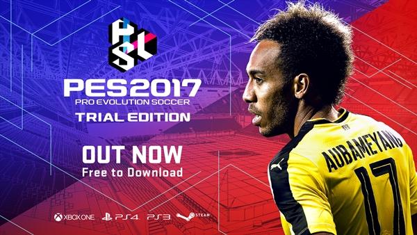 konami presenta Trial Edition, la versión gratuita de PES 2017