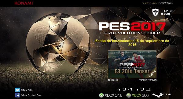 PES 2017: Konami revela los modos de juego