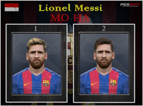 Lionel Messi PES 2017 PC - by Mo Ha