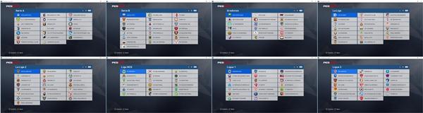 Nombres y Logos reales PES 2017 - by ARH