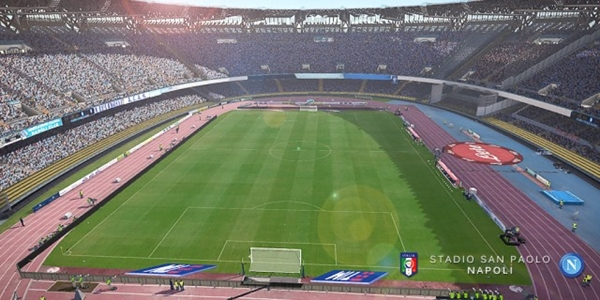 Estadio San Paolo Napoles PES 2017 PC - by CrIs