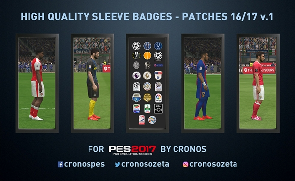 insignias pes 2017 pc