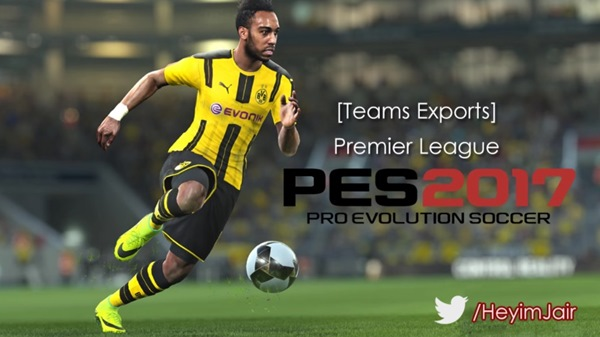 Premier League Kits PES 2017 PS3 - by JeeCkho