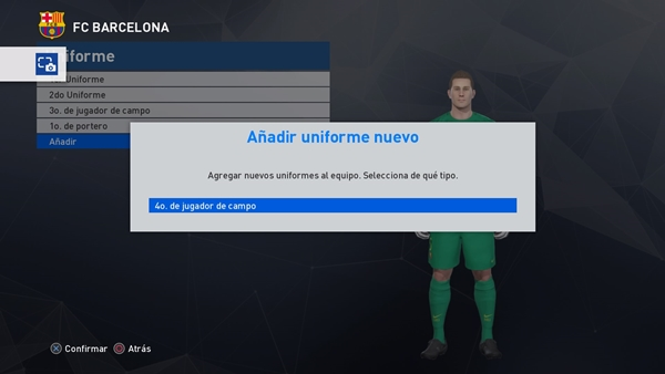manual kits pes 2017 ps4