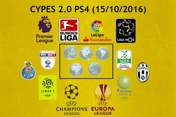Cypes Option File v2.0 PES 2017 PS4