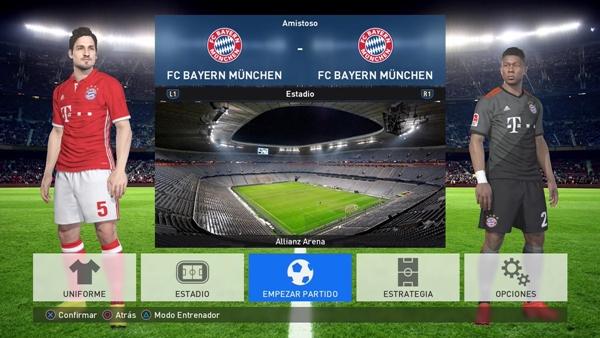 Importar Bundesliga + Otros Europa PES 2017 PS4 - by erzo77