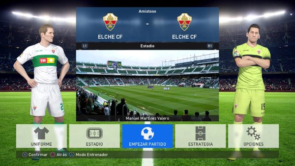 option file la liga 123 pes 2017 ps3