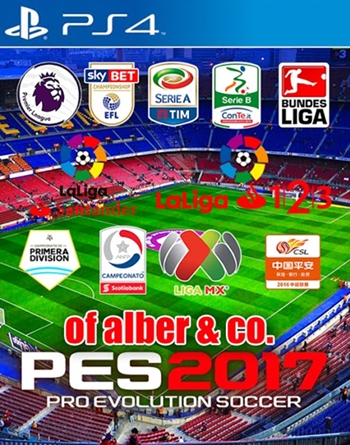 Option File Alber & CO v2.0 PES 2017 PS4