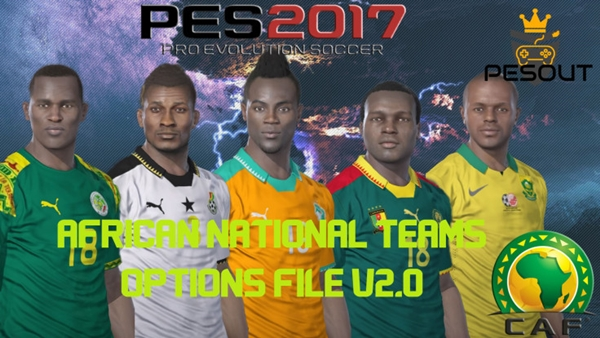 option file africa pes 2017 ps4
