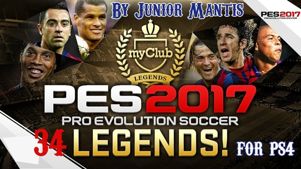 Todas las Leyendas Offline PES 2017 PS4 - by Junior Mantis