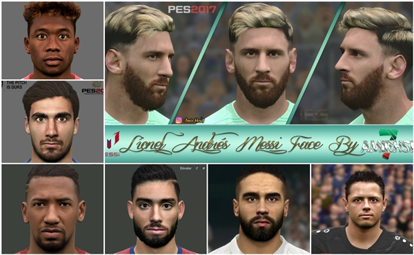 Facepack v1 PES 2017 XBOX 360 - by KChavez