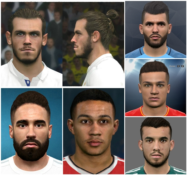 Facepack v2 PES 2017 XBOX 360 - by KChavez