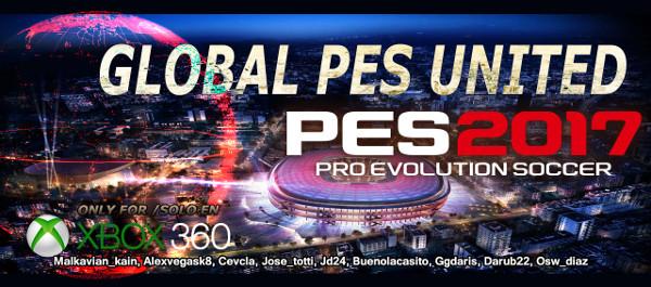 Global PES United v2 PES 2017 Xbox 360