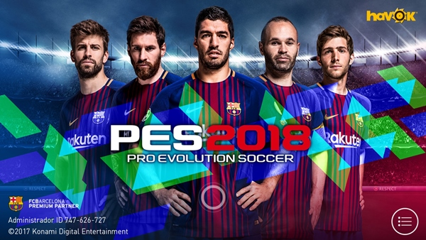 PES 2018 Mobile ya disponible para Android