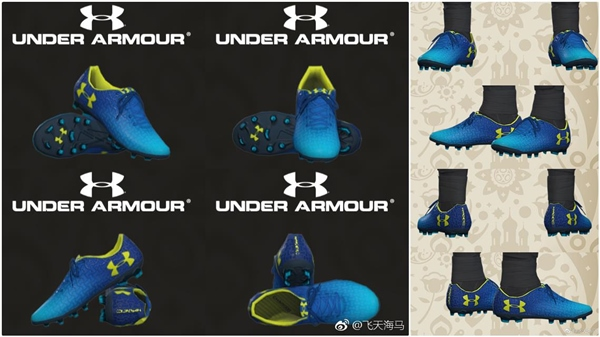 Botas Under Armour Magnetico Pro PES 2018 - by Paul81118