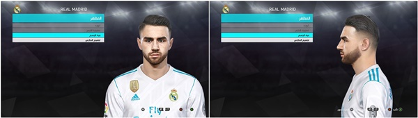 Borja Mayoral face Real Madrid PES 2018 - by Alief