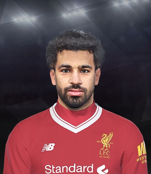 Mohamed Salah Face PES 2018 - by EmreT